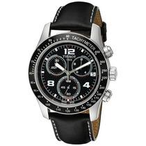 Reloj Hombres Usado Tissot V 8 Black Chronograph