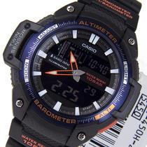 Reloj Casio Sgw450h Alti-baro-termometro 5 Alarmas