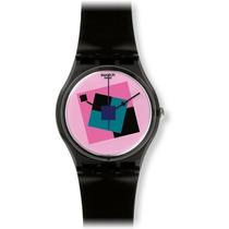 Reloj Swatch Negro Femenino