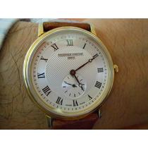 Hermoso Reloj Suizo Frederique Constant Extraplano, Usado