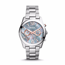 Perfect Boyfriend Multifunction Stainless Steel Watch-fossil
