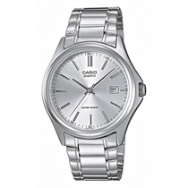 Reloj Casio Mtp 1183 Cristal Mineral Antirayaduras Fechador