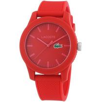 Reloj Lacoste Rojo Masculino