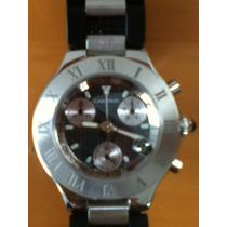 Reloj Cartier Chronoscaph Siglo 21 , Original