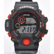 Reloj Quarzo Xinjie X-sport Rojo Deportivo