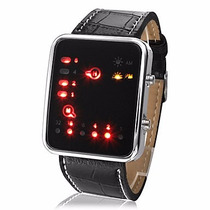Reloj Binario Led Súper Moderno