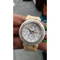 Reloj Fossil Bisel Ceramico. Original Remate !!