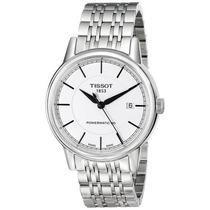 Reloj Tissot T0854071101100 Suizo Plata Automática Masculino