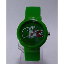 Reloj Hombre Lacoste Excelente Verde Regalo Mexico