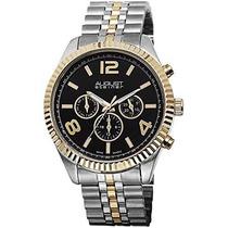 Reloj August Steiner Plateado Con Dorado Wref60