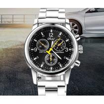Reloj Hombre Luxury Acero Envio 24hrs