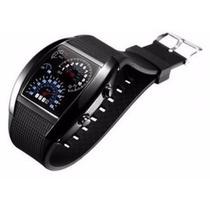 Reloj De Pulso Touch Aviador F450 Color Negro