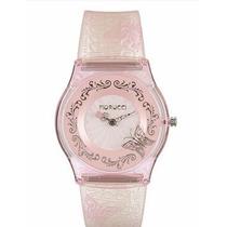 Reloj Fiorucci Movimiento Japones Mariposa Rosa Fr1104