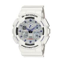 Reloj Casio G-shock Ga-100a-7a Blanco