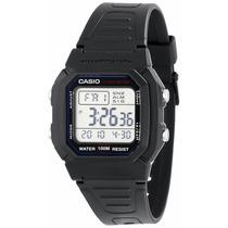 Reloj Digital Casio W-800h-1avcf Negro Nuevo Retro :)