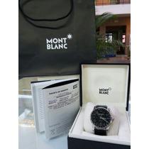 Reloj Montblanc Timewalker Gmt (mont Blanc) Caja Y Papeles