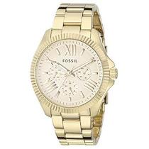 Reloj Fossil Am4570 Dorado