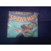 Marvel Cartera Original Spiderman Vs Duende Verde Mica