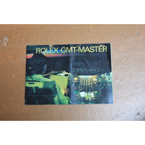 Instructivo Rolex Gmt-master