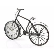 Reloj Estilo Antiguo Decorativo De Bicicleta Ornamento
