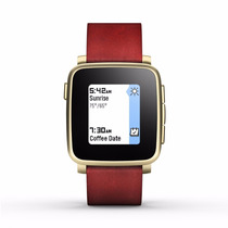 Pebble Time Steel Smartwatch For Apple/android Devices - Gol