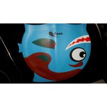 Gorra De Natacion Wet Infantil Figuritas Silicon