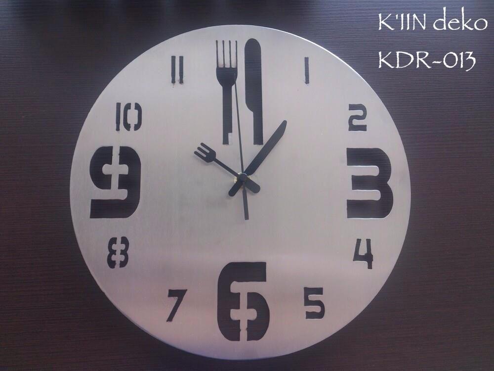 Relojes minimalistas de pared para cocina kiin deko - Relojes pared cocina ...
