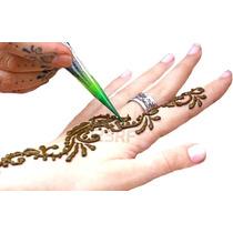 Henna Organica Sin Plomo Para 20 A 30 Tatoos