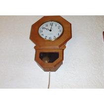 Reloj De Pared Antiguo 50 General Electric Octagonal $1,400