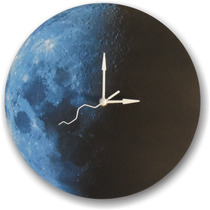 Reloj De Pared Luna, Moon Wall Clock