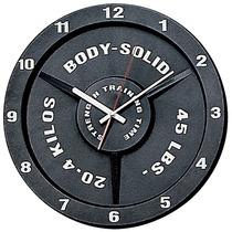Reloj De Pared En Forma De Disco Marca Body-solid Op4