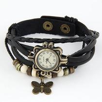 Lote De 10 Relojes Vintage Mariposa Para Dama