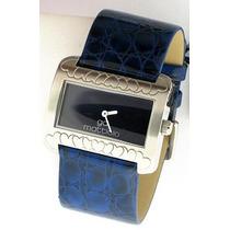 Reloj Italiano Para Dama Azul Dmm