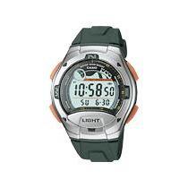 Reloj Casio W-753 Luz Cronometro Contra Agua Caucho Mmu