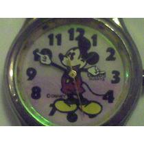 Mickey Mouse Reloj Lorus Para Niño O Dama