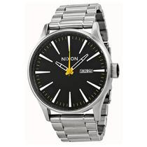 Reloj Nixon Sentry Ss Acero Inoxidable A356-1227 Garantia