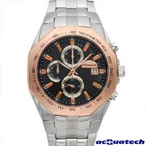 Reloj Acquatech Italiano Hombre, Cronografo, Acero Inox Vmj