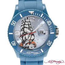 Reloj Ed Hardy Christian Audiger, Acero Plastico I1 Sp0