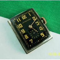 Reloj Longines Años 30´s Caja Laminada En Oro Y Tapa De Ace