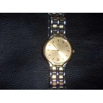 Reloj Omega Oro/acero Plano, Caballero, Quarzo, Impecable