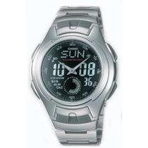 Reloj Casio Aq-160 Cronometro Luz Automatica Buceo Alarmas