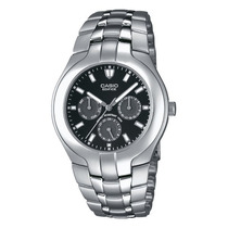 Reloj Casio Edifice Ef-304 Acero Inoxidable100 Mts Fechador