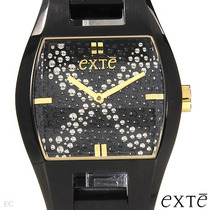 Reloj Exte Damas, Diseño Italiano, Acero Inoxidable Sp0