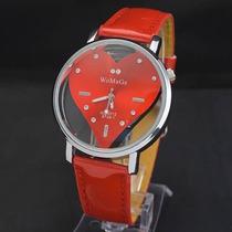 Reloj De Corazon Para Dama Acero Inoxidable Varios Colores