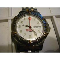 Reloj Wenger Edicion Especial Toyota Original Suizo De Buzo