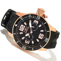 Reloj Invicta 1793 Flame Fusion Tritnite Gold Dorado Neg Vv4