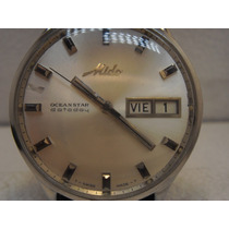 Reloj Mido Ocean Star Dataday Automatico Vintage De Correa