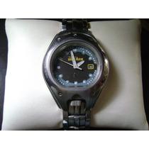 Reloj Timex Ironman Con Corona A Las 6 Y Luz Indiglo.