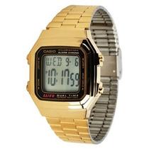 Reloj Retro Dorado Unisex Casio A17 Spe Nvd