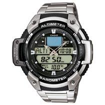 Reloj Casio Sgw 400 Acero Altimetro Barometro Termometro